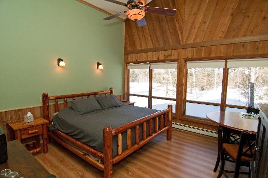 Cable Nature Lodge : Aurora Borealis guest room
