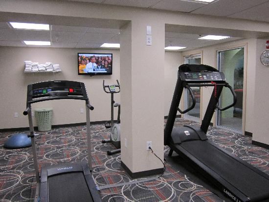 Holiday Inn Portsmouth Downtown : Fitness Room