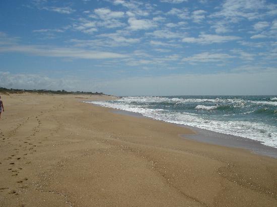 Uruguai: playa en la pedrera