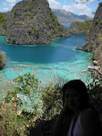 Coron Reef Pension House: cleanest lale in the philippines : kayangan lake