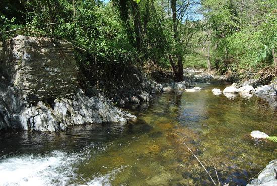 Nearby River at Mas Pallares