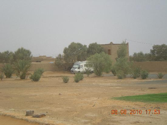 Les Portes du Desert: parcheggio