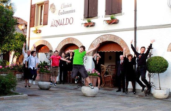 Rubiera, Italy: Il salto!