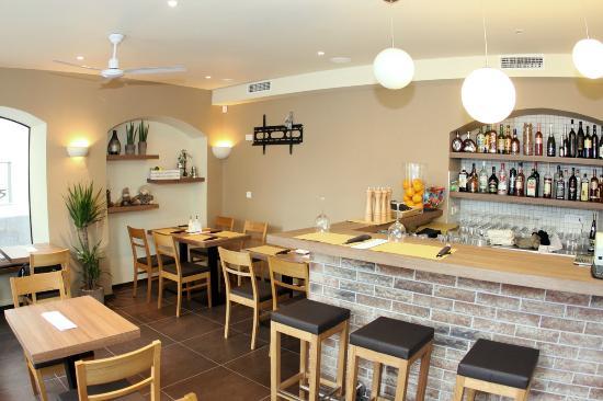 Paninoteka Restaurant: The warm and cosy atmosphere..