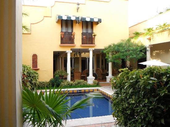 Casa de las Columnas: foto dal patio
