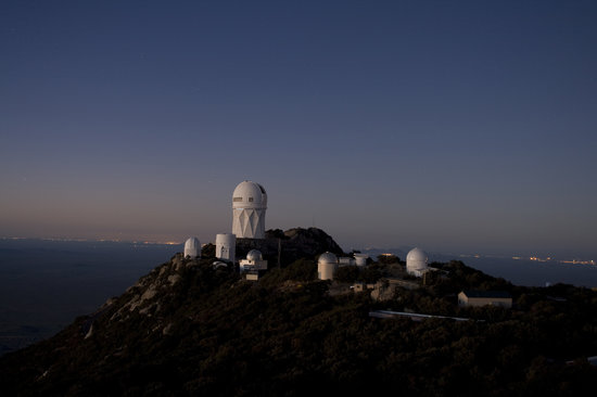 Sells, AZ: 4M telescope at dusk