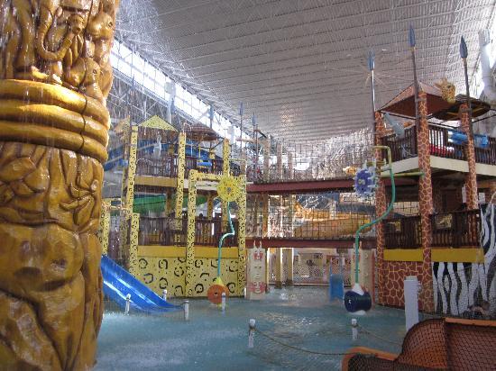 Kalahari Resorts & Conventions: Kids play area - Leopards Lair