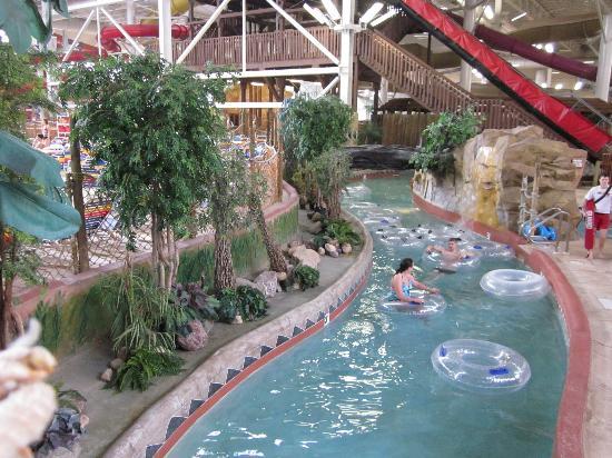 Kalahari Resorts & Conventions: The lazy river