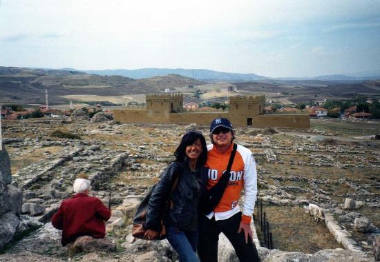 Hattusha: Veduta sulle rovine e fortezza