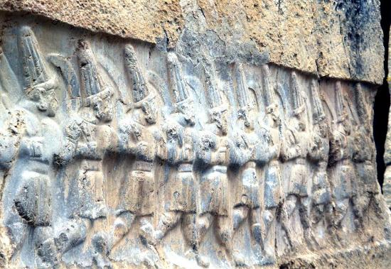 Hattusha: Bassorilievo ittita