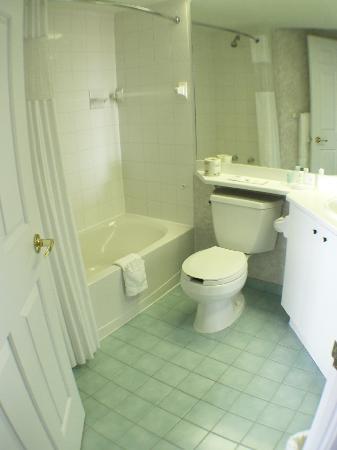 Quality Suites Mont Sainte Anne: Bathroom