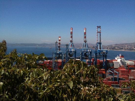 Paseo 21 de Mayo: Vista desde Mirador