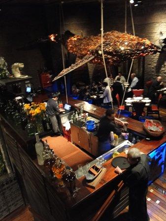 Aqui esta Coco : Bar do restaurante