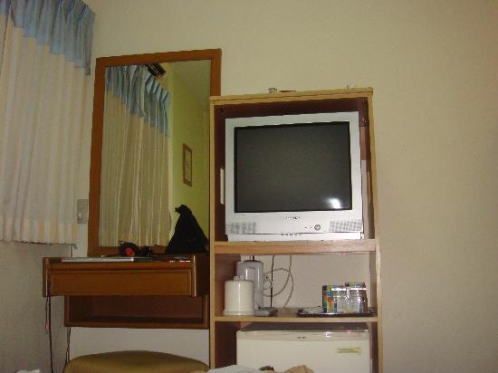Wendy House: tv & mirror