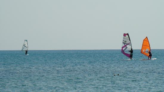 Ras Sudr, Egipto: Wind Surfing !!