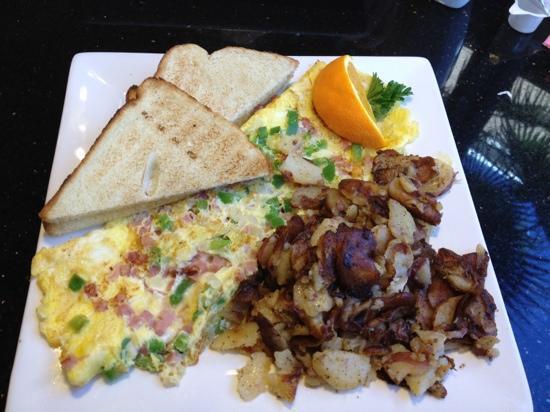 Keke's Breakfast Cafe: western omelet