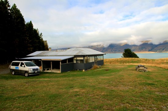 Braemar Station : The Shearers quarters and the view