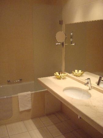 Arbat Hotel: Das Badezimmer