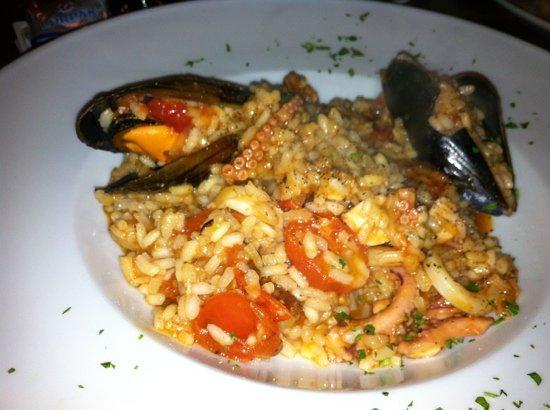 Bianco's : risotto con i frutti di mare!!!!