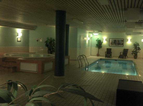 Basement pool and jacuzzi picture of quality hotel royal for Quality basement