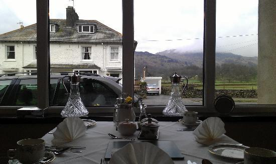 Dunmail House : The view from the breakfast table.