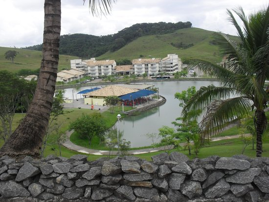 Barra do Pirai, RJ: Foto do Resort e do lago.