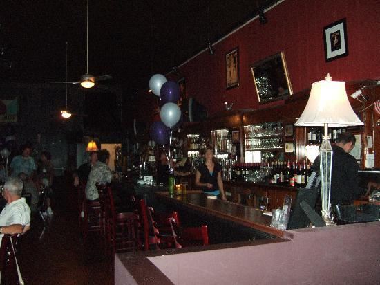 The Club Car Bar & Restaurant: The bar