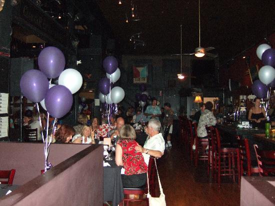 The Club Car Bar & Restaurant: Looking toward the back of restaurant