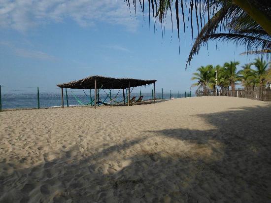 Sol y Arena Beach Hostel: My favorite hangout...