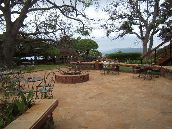 Lake Manyara Wildlife Lodge: Sitting area