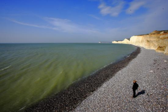 Seaford, UK: The Birling Gap - Sanjaya Wijeyekoon
