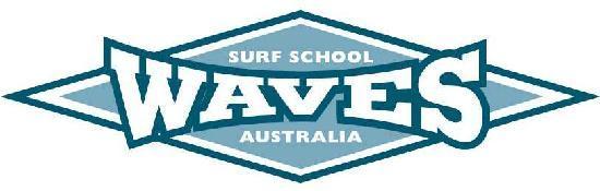 Waves Surf School: Logo