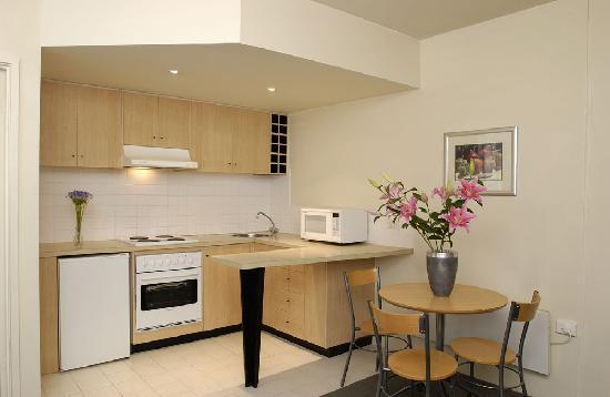 Apartments on Flemington: Kitchen