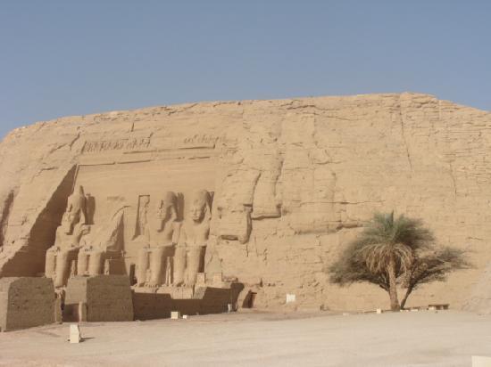 Abou Simbel : il tempio