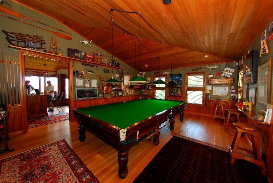 Pencarrow: Enjoy the Snooker Room