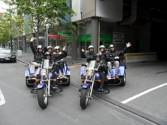 Tours on Trike Melbourne