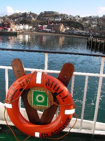 Druimnacroish: Ferry to mull