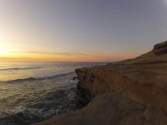 Sunset Cliffs Natural Park: Sunset Cliffs, February 2012