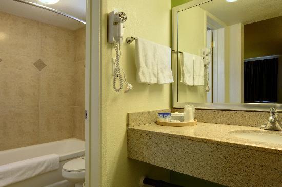 Americas Best Value Inn - Downtown Phoenix: bathroom in room
