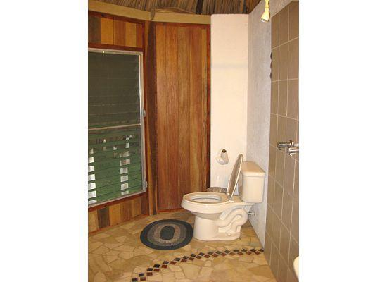 Pook's Hill Lodge: Bathroom in the birdwalk cabana