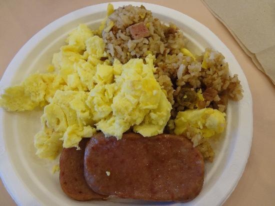 ハワイ大学マノア校, 学食で朝食