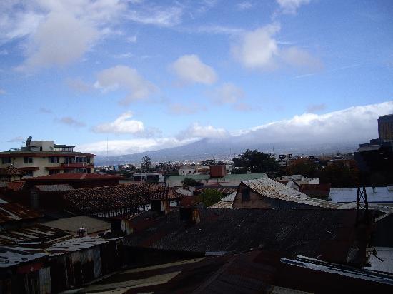 Hostel Pangea: view from deck
