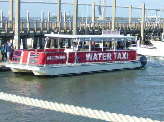 Charleston Water Taxi: Comfortable ride