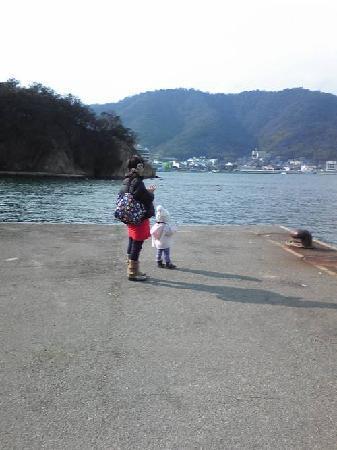 Sensui Island: 12.01.25【仙酔島】島の埠頭②