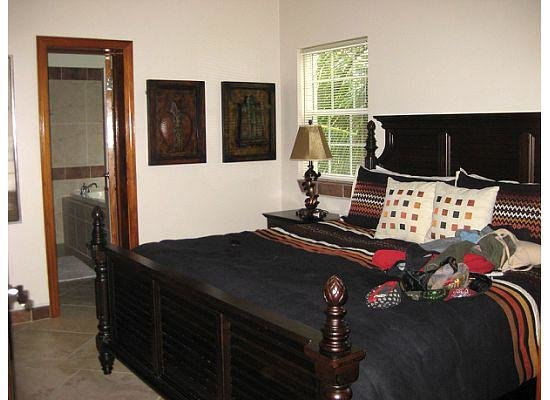 The Landings at Tres Cocos: Bermuda Beach A5 master bedroom