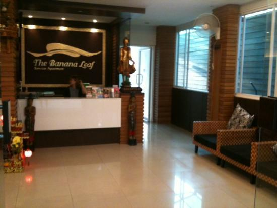 Banana Leaf Hotel & Serviced Apartment: Reception