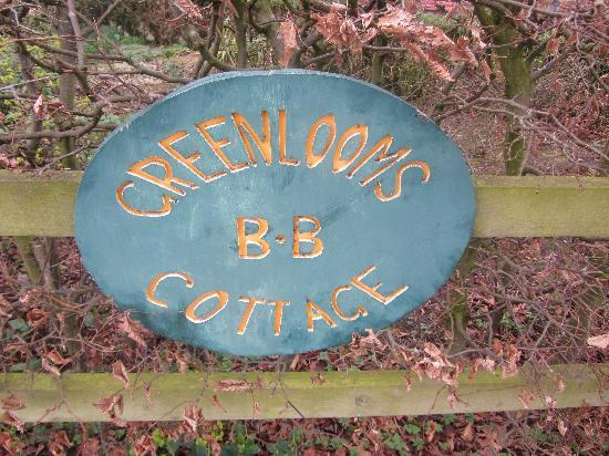 Greenlooms Cottage: welcome