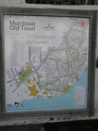 Old Town: Karte