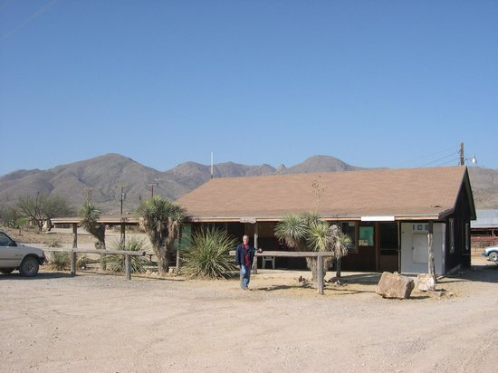 Terlingua Ranch Lodge: manager's office