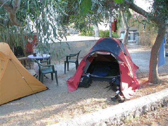 Santorini Camping: Camping